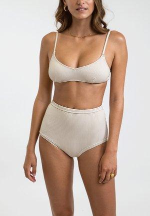 TRILETTE NOUMEA RING - Bikini top - beige