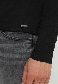 Key Largo - CHEESE - Bluzka z długim rękawem - black - 3