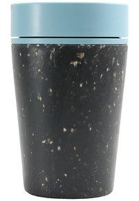 Circular&Co - KAFFEEBECHER TO GO MIT DECKEL - 227ml - Other accessories - schwarz / blau - 1