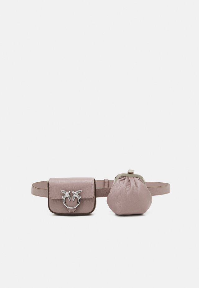 LOVE BERRY BUBBLES BELT - Bæltetasker - taupe