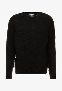 Be Edgy - WILFORD - Sweter - black - 4