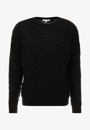 WILFORD - Sweter - black