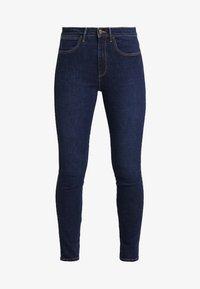 Wrangler - HIGH RISE - Jeans Skinny - night blue - 4