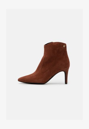 Classic ankle boots - rusty brown