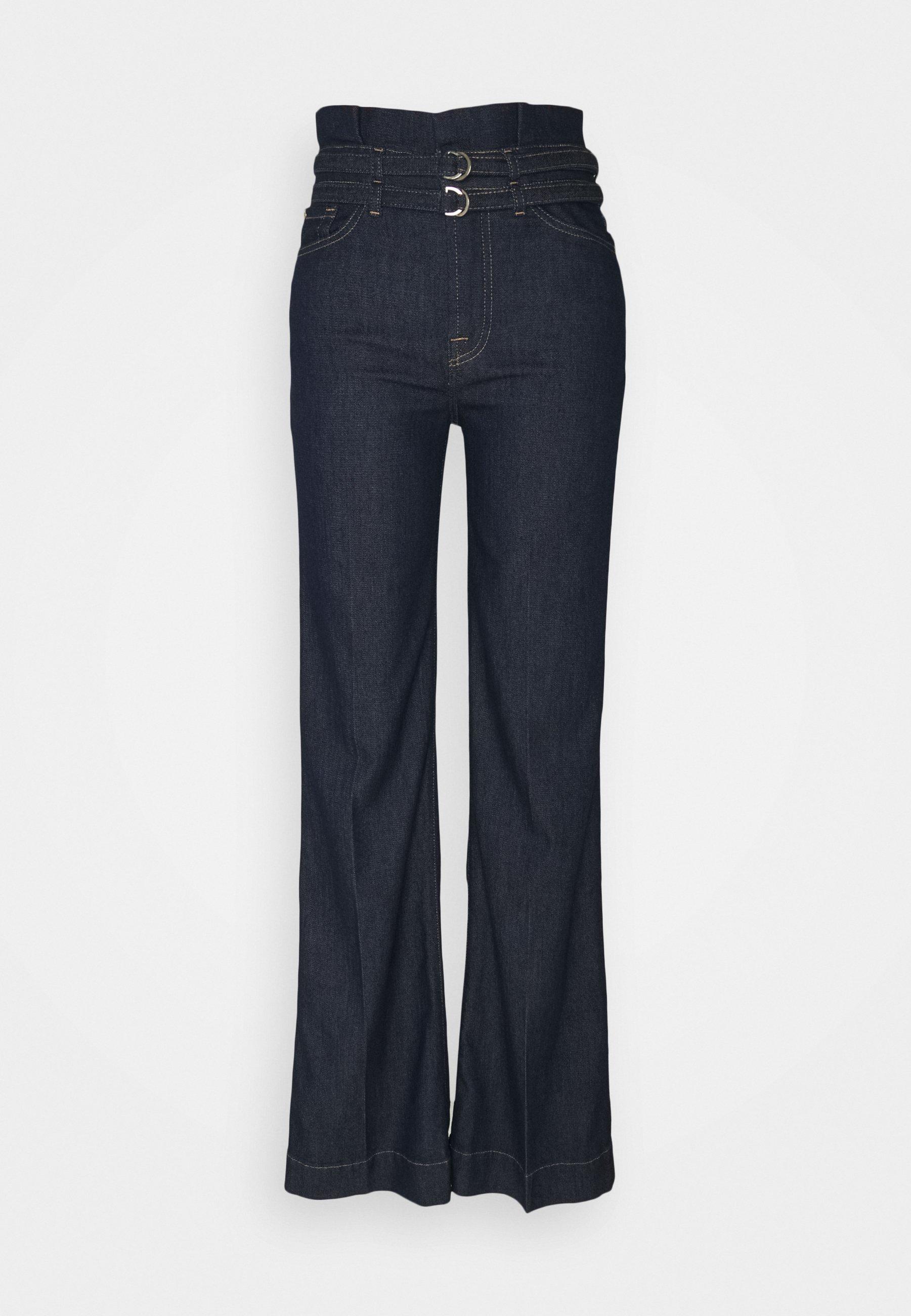Women PAPERBAG MODERN DOJO LEFHANREL - Flared Jeans