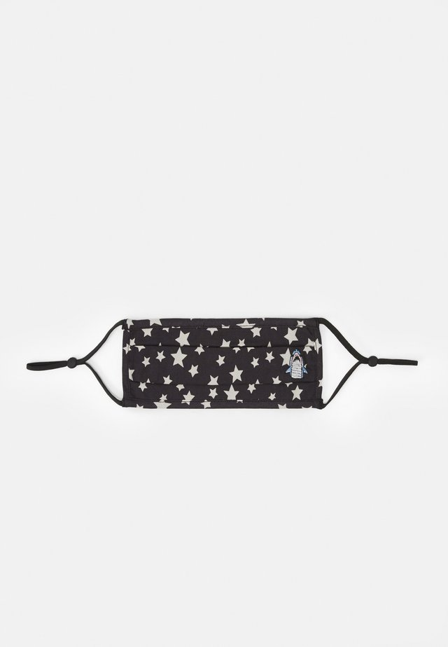 FACE MASK WITH STARS - Stofmaske - black/white
