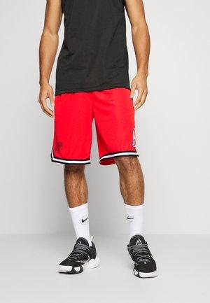 NBA CHICAGO BULLS DNA SHORT - Pantaloncini sportivi - university red/black/white
