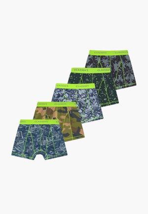 BOYS 5 PACK  - Pants - army/multicolour