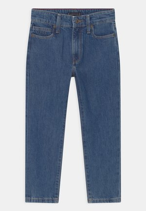 MODERN STRAIGHT ANKLE - Straight leg jeans - authentic stonewash med