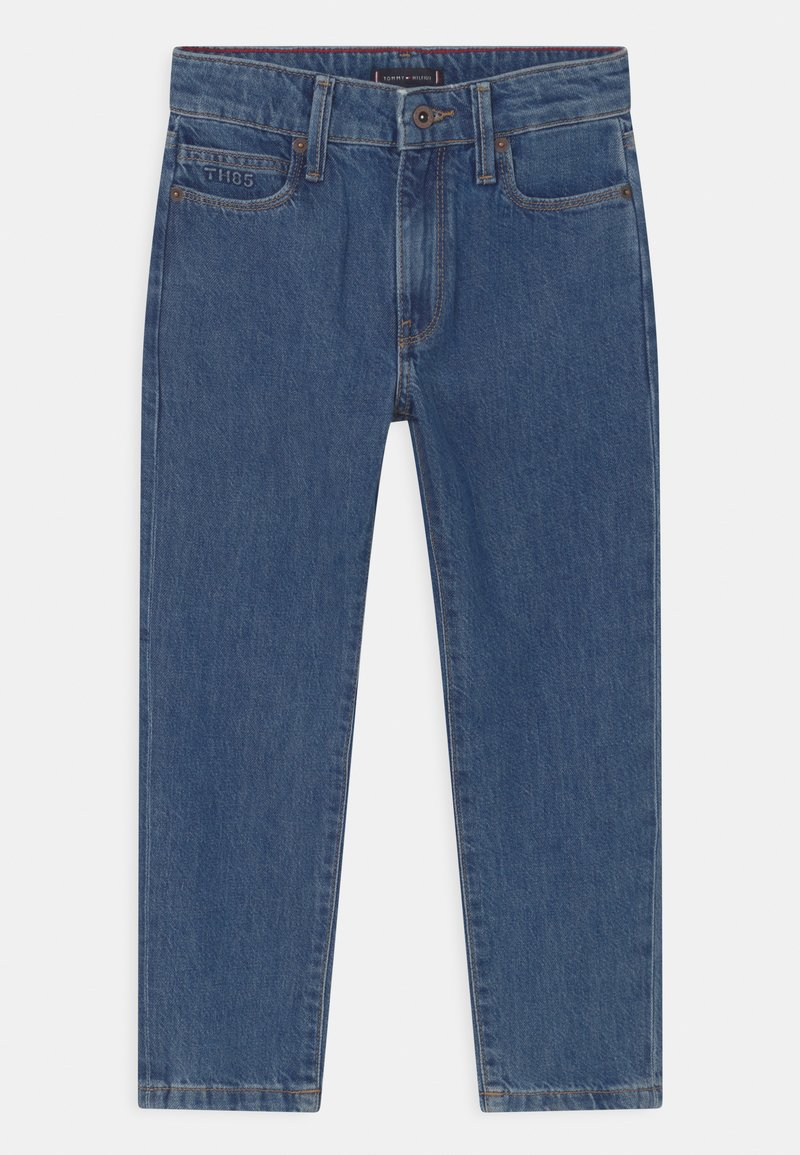 Tommy Hilfiger - MODERN STRAIGHT ANKLE - Jeans a sigaretta - authentic stonewash med