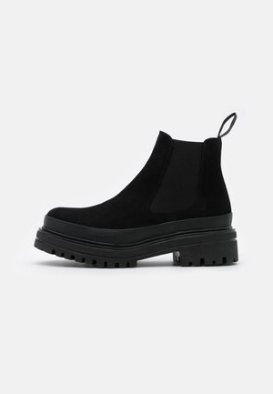 BIADICY  - Platform ankle boots - black