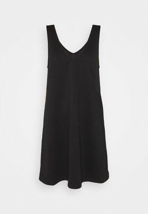 OBJMIRA DRESS - Vestito di maglina - black