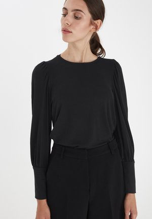 IHVENUS LS - Long sleeved top - black