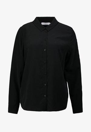 MAJ - Button-down blouse - black