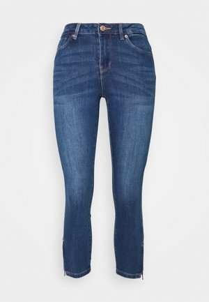 VMTILDE ZIP PETIT - Jean slim - medium blue denim