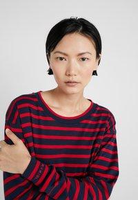 Sonia Rykiel - Long sleeved top - nuit/carmin - 4