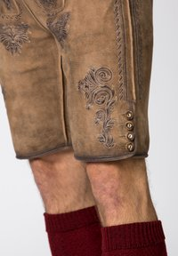 Stockerpoint - Leather trousers - brown - 5