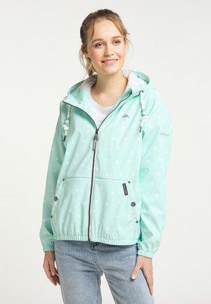 Light jacket - pastellmint aop