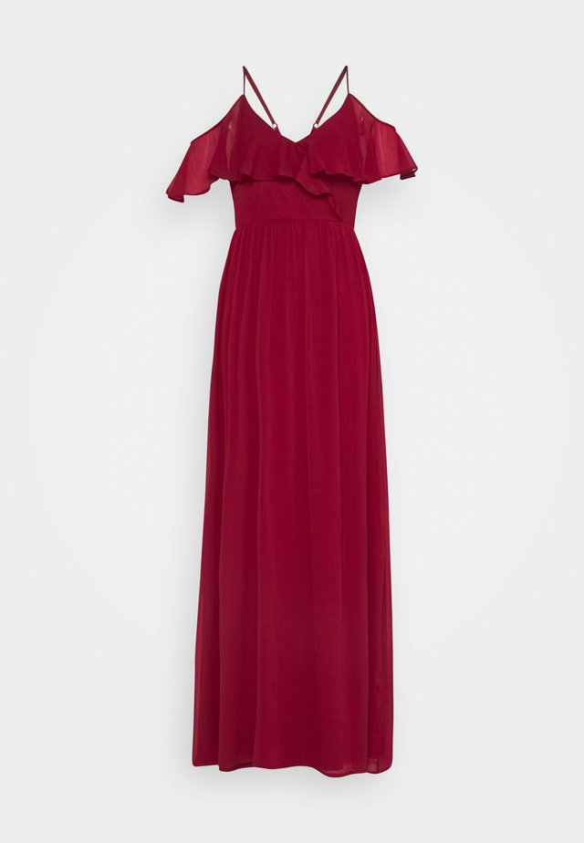 LET YOU LOVE ME GOWN - Robe de cocktail - dark red