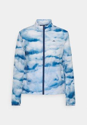 MINA WIND GOLF JACKET - Training jacket - cloud midnight summer blue