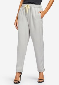 khujo - EVANGELIA - Trousers - grey - 3
