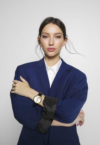 LADIES DRESS - Watch - black/gold-coloured
