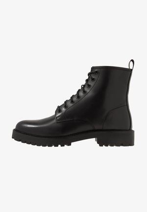 SEAN LACE UP BOOT - Schnürstiefelette - black