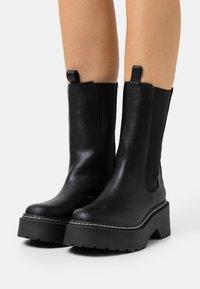 River Island - Platform boots - black - 0