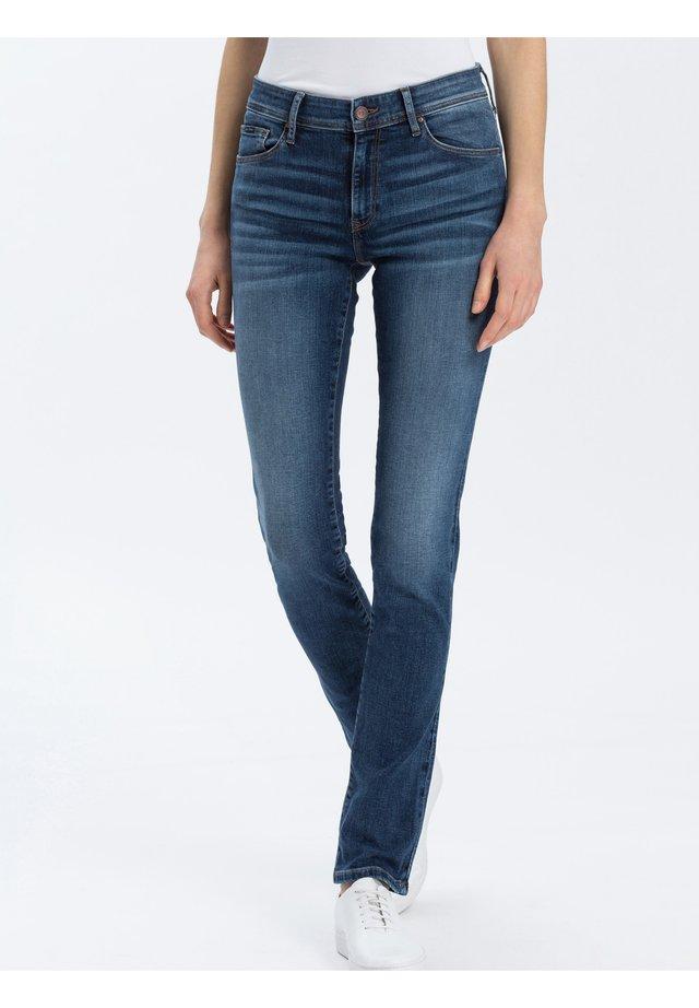 ANYA - Slim fit jeans - dark-blue-used
