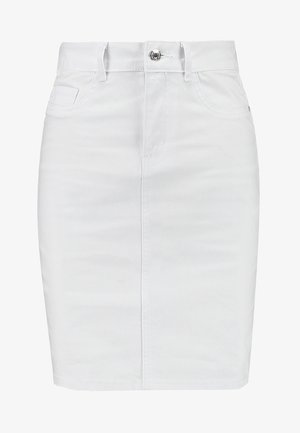 Pencil skirt - bright white