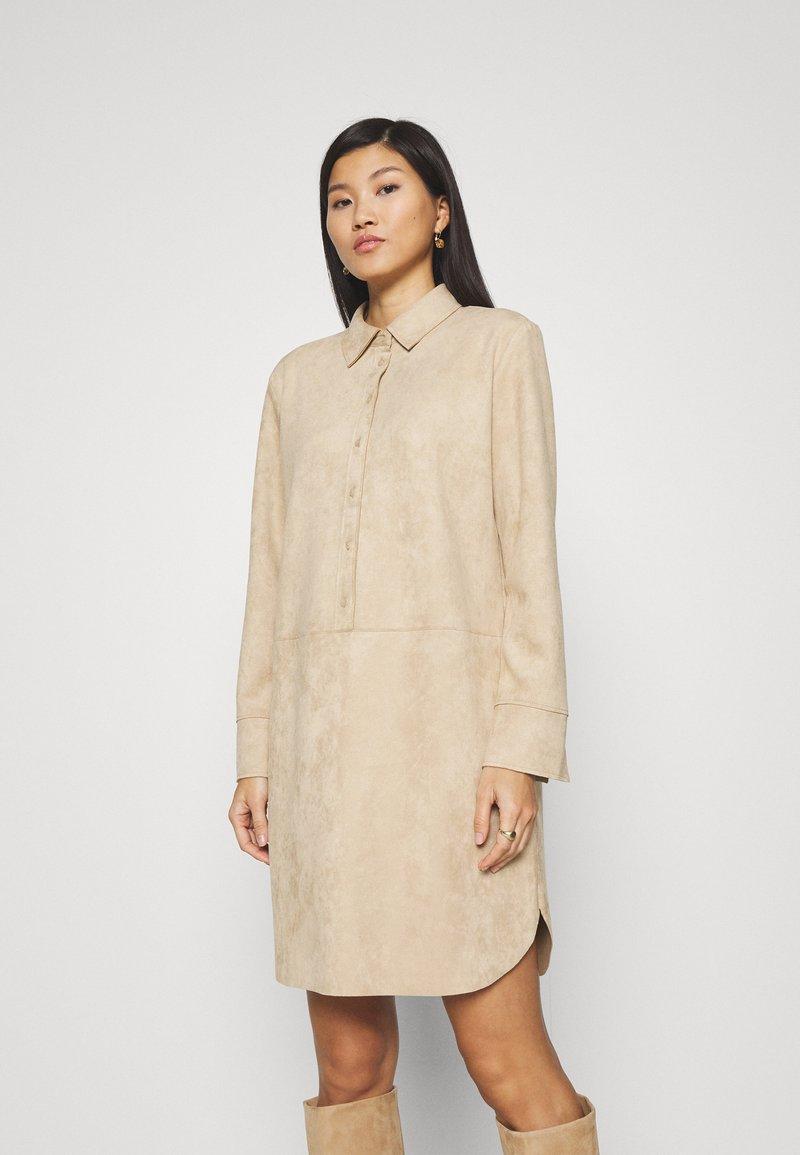 Opus - WESA - Shirt dress - macadamia