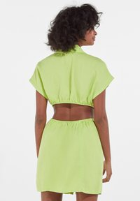 Bershka - Shirt dress - green - 2