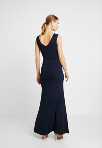 WAL G. - KNOT MAXI DRESS WITH SPLIT - Robe de cocktail - navy - 3