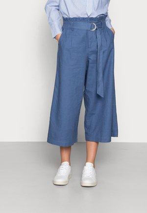 LNLAUREN CULOTTE - Pantalon classique - bijou blue