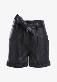 SET - Leather trousers - black - 3