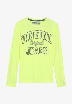 JEAT - Long sleeved top - neon yellow