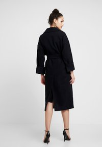 EDITED - SANTO COAT - Frakker / klassisk frakker - black - 2