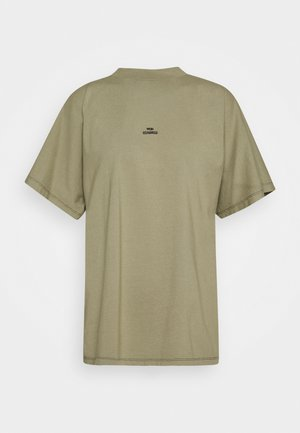 BROOKLYN VINTAGE - Camiseta estampada - vetiver