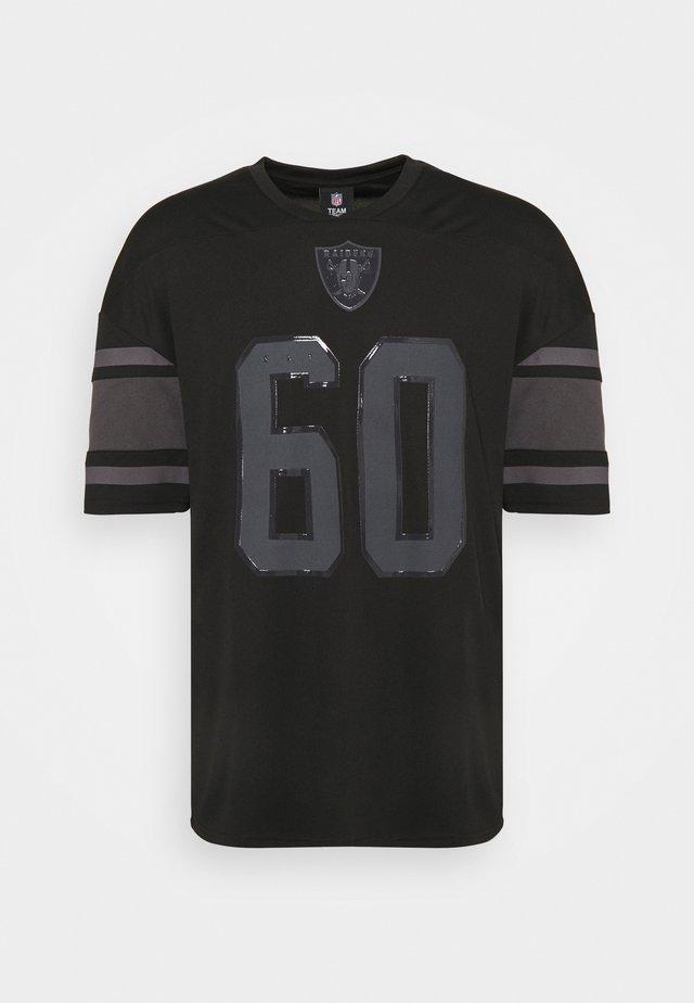 NFL LAS VEGAS RAIDERS FRANCHISE  - T-shirt con stampa - black