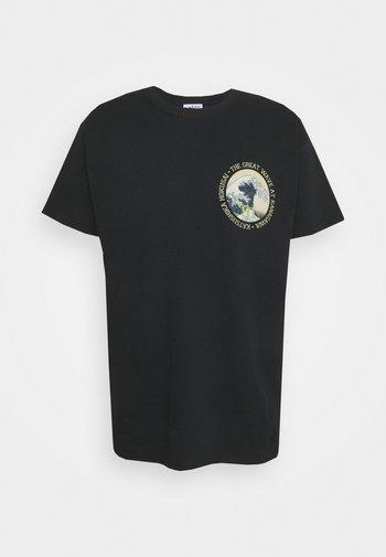 HOKUSAI ART TEE - Print T-shirt - black