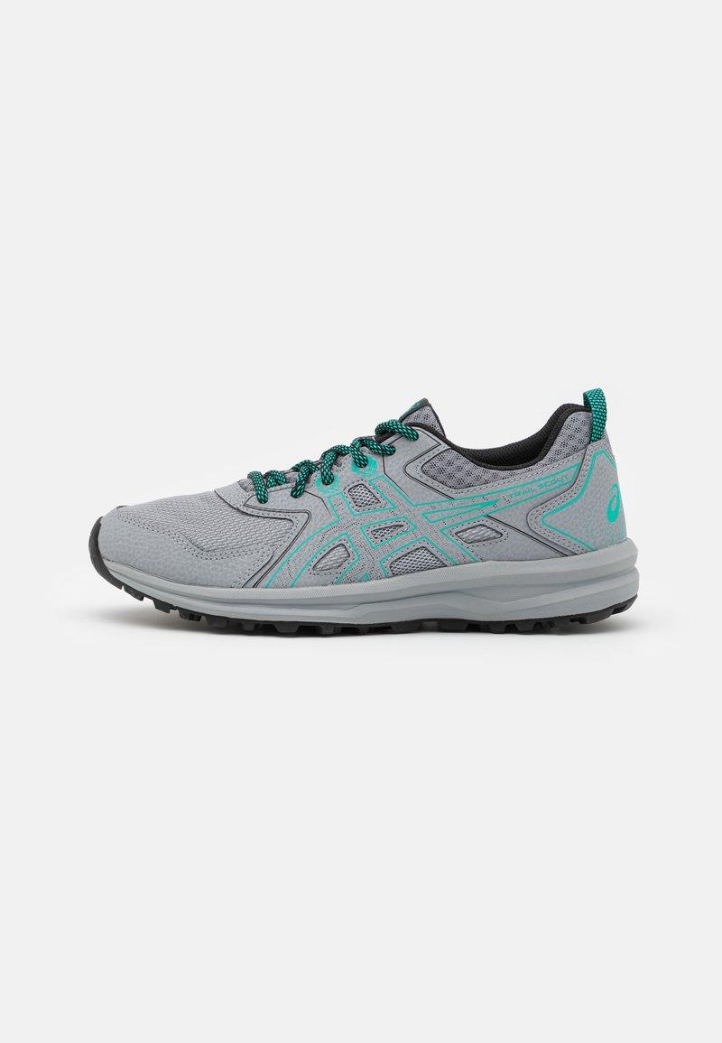 ASICS - SCOUT - Trail running shoes - sheet rock/baltic jewel