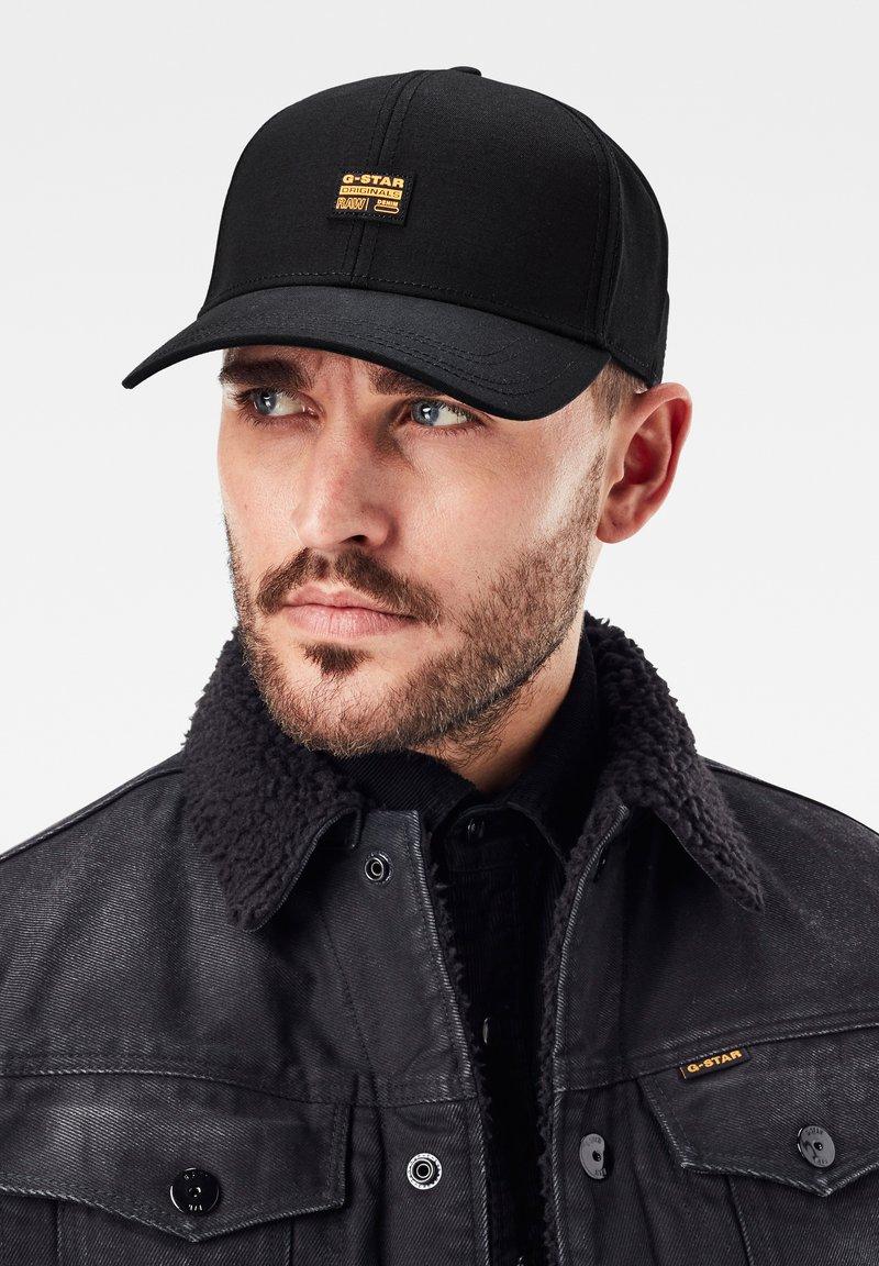 G-Star - ORIGINALS BASEBALL CAP - Cap - dk black