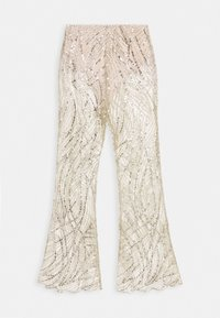 Missguided - GLITTER TROUSERS - Bukse - gold - 1