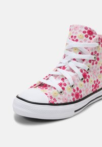 Converse - CHUCK TAYLOR ALL STAR  - Sneakers hoog - white/pink/black - 6