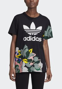 adidas Originals - HER STUDIO LONDON LOOSE T-SHIRT - T-shirts med print - black - 4