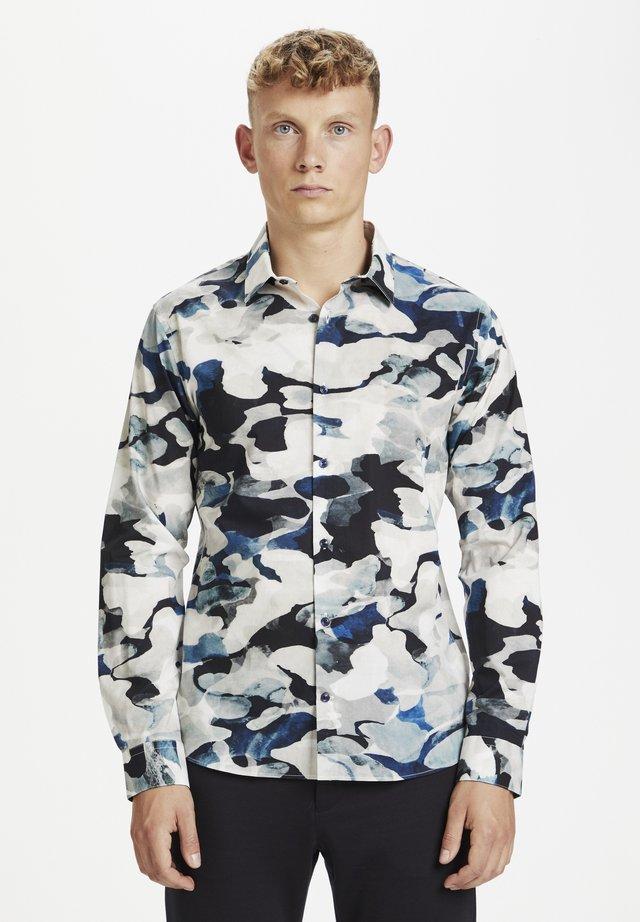 Camicia - wave blue