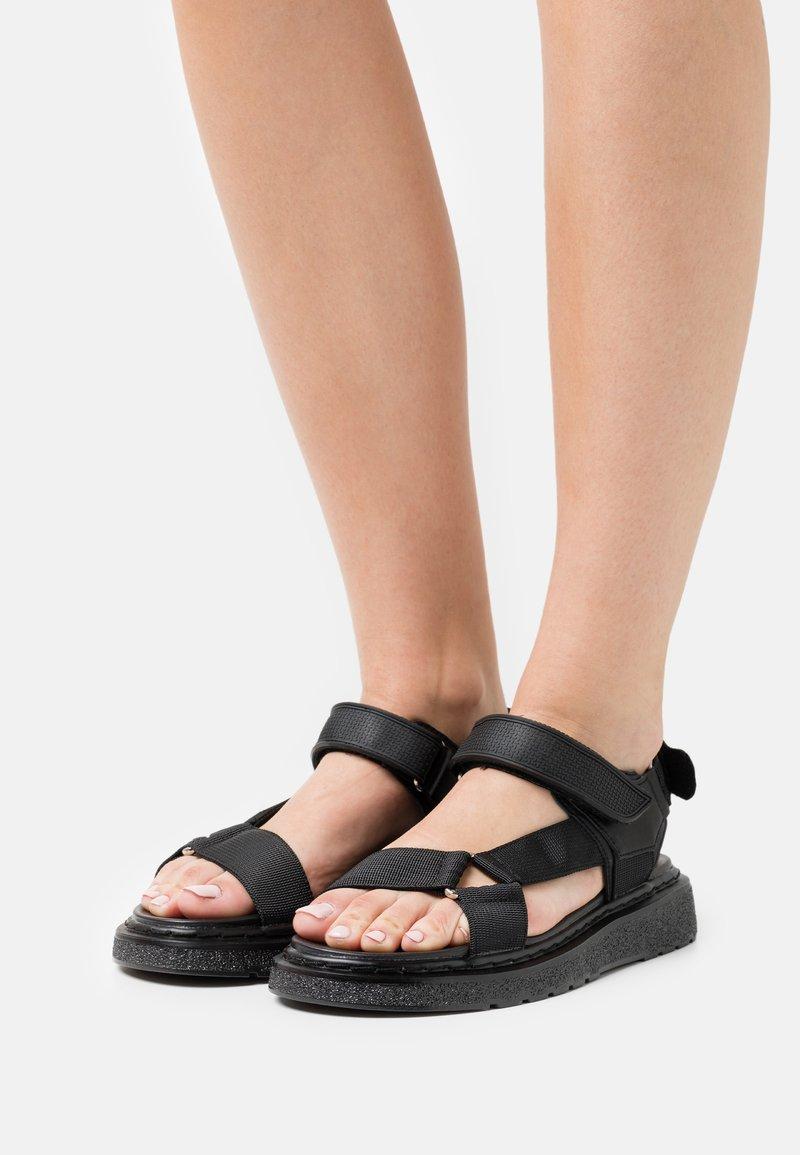 NA-KD - Sandales de randonnée - black