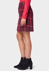 TOM TAILOR - ROCK - A-line skirt - red pink - 4