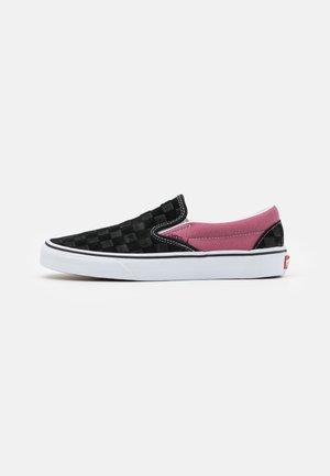 CLASSIC UNISEX - Mocassins - black/pink/white