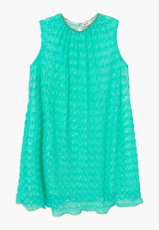 Vestido de punto - turquoise